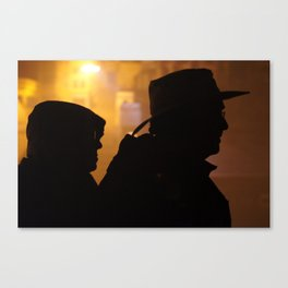 Search Party Canvas Print