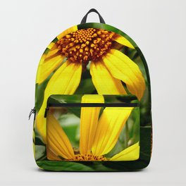 yellow daisys Backpack