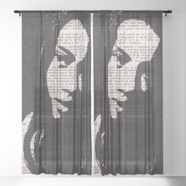 Arabesque Sheer Curtain