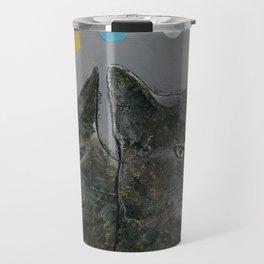Grey Cats Travel Mug