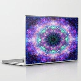 Trippy Purple Deep Space Mandala Laptop & iPad Skin