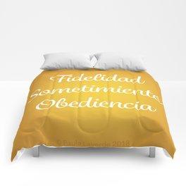 Fidelidad, Sometimiento, Obediencia Comforters