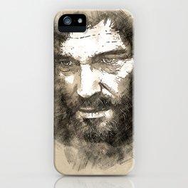 Joel - The Last Of Us [sketch] iPhone Case