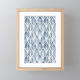 Indigo Forest Framed Mini Art Print