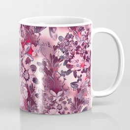 Flowers in the garden - strawberry color 2 Coffee Mug