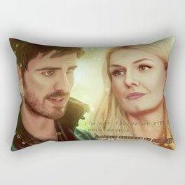 I'm not taking my eyes off you... Rectangular Pillow