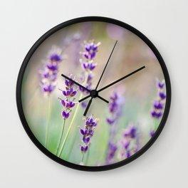 Lavender Daydream Wall Clock