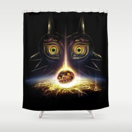 Majora's Mask Operation Moonfall Shower Curtain