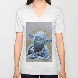 Master Yoda  Unisex V-Neck