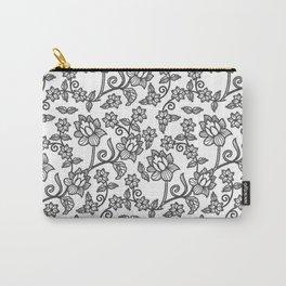 Batik Print I Carry-All Pouch