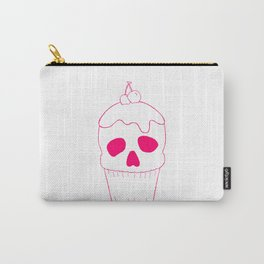 Skullcake Pink Carry-All Pouch