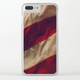 The Flag (Color) Clear iPhone Case