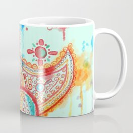 Bleeding Paisley Coffee Mug