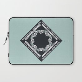 Hiking Trails-Strong as Nails Laptop Sleeve