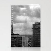 philadelphia Stationery Cards featuring Philadelphia  by Kameron Elisabeth