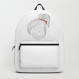 Portrait of a Mood Backpack