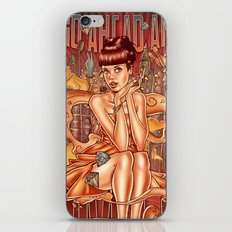 Smile - Lily Allen iPhone & iPod Skin