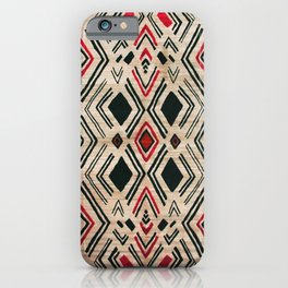 N58 - Traditional African Berber Moroccan Antique Style Artwork iPhone Case