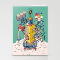 argentina Stationery Cards featuring Rasti / Industria Argentina by Martin Orza