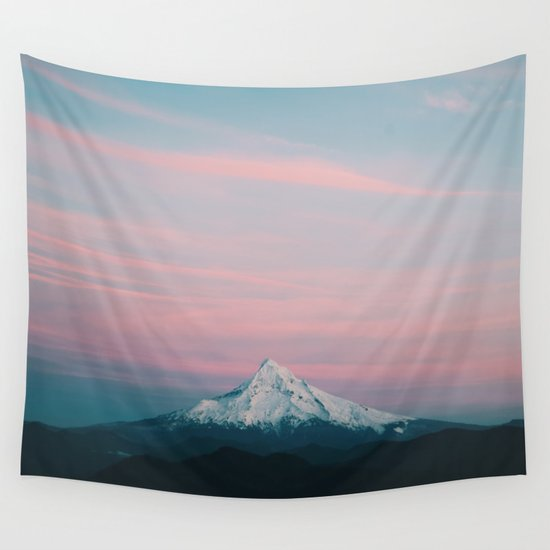 Mount Hood III Wall Tapestry