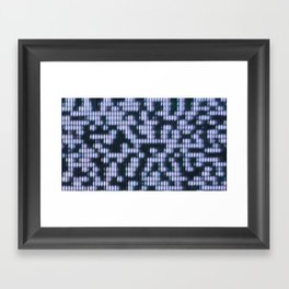 Painted Attenuation 1.2.4 Framed Art Print