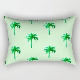 Palm Tree Pattern Rectangular Pillow