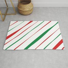 Christmas Stripes Rug