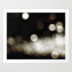 Into the Golden Night Art Print