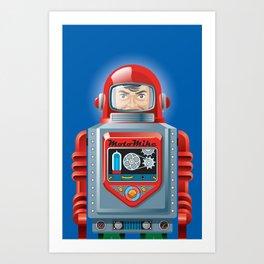 Hellobot 4 Art Print