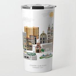 Kansas City Plaza Travel Mug