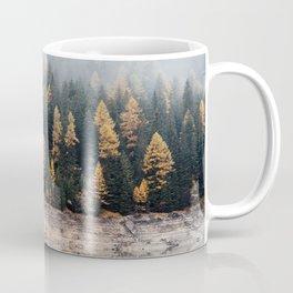 Misty Autumn Forest Coffee Mug