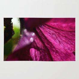 mauve flower Rug