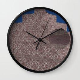 New-Nice Pyramide 6 Wall Clock
