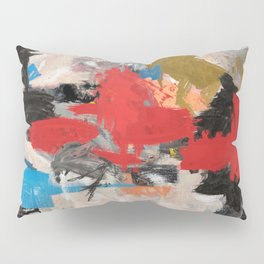 Abstract Expressionism Painting Pillow Sham