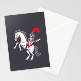 Music is mightier than the sword Stationery Cards