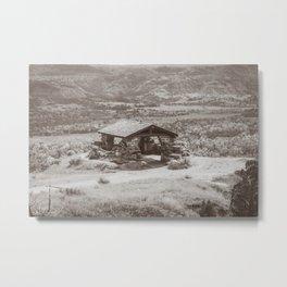 Badlands Overlook, Theodore Roosevelt NP, ND 34 Metal Print