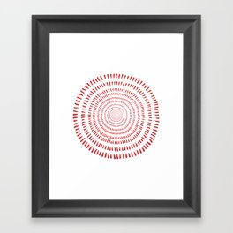 Fjorn Framed Art Print