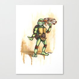 Playful Mikey Canvas Print