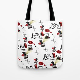 Love Makeup Tote Bag