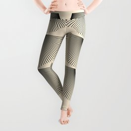 Abstraction_SUNSHINE_LINE_POP_ART_Minimalism_001J Leggings