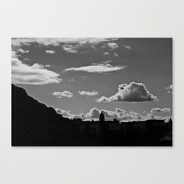 The Lonely Cloud Canvas Print