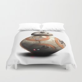 BB-8 by dana alfonso Duvet Cover