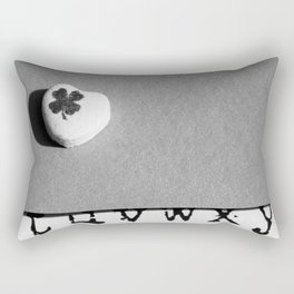Lucky in Love Rectangular Pillow