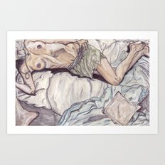 Unknown Figure 05 Art Print