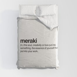 Meraki Comforters