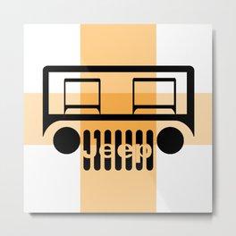 My Jeep My Adventure Metal Print