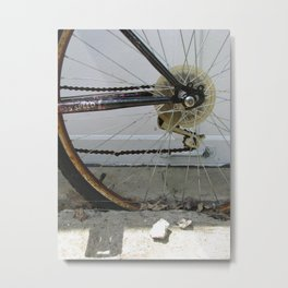 That's the Way it's Spokes-to-be Metal Print