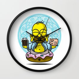 relax hommie Wall Clock