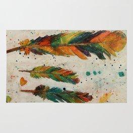 """From The """"Rainbow Bird"""" Rug"""