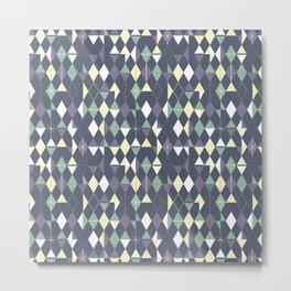 Haphazard Geometry Metal Print
